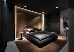 minimalistic Bedroom by INCUBE Алексея Щербачёва