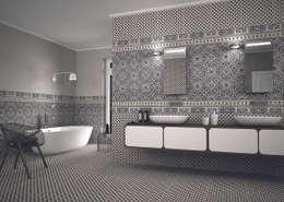 modern Bathroom by The Baked Tile Company
