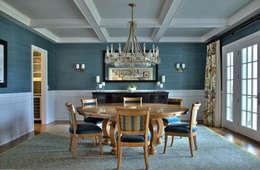Sala de jantar  por The Natural Furniture Company Ltd