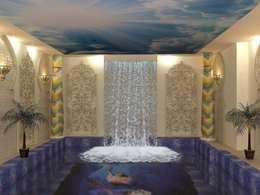 Бассейн в частном доме: Бассейн в . Автор – milina16