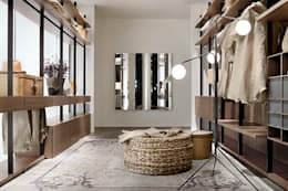 modern Dressing room by Campbell Watson