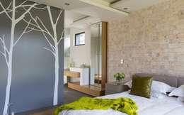 Спальни в . Автор – Nico Van Der Meulen Architects