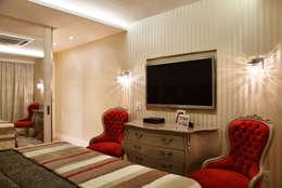 غرفة نوم تنفيذ Ana Adriano