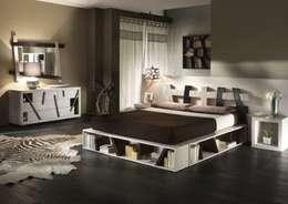 Спальная комната  в . Автор – Negozio del Giunco