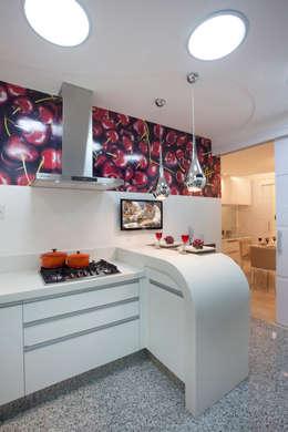 modern Kitchen by Designer de Interiores e Paisagista Iara Kílaris