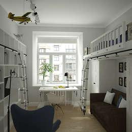 детская: Детские комнаты в . Автор – artemuma - архитектурное бюро