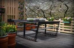 PN Table: industriële Tuin door RetroWorks