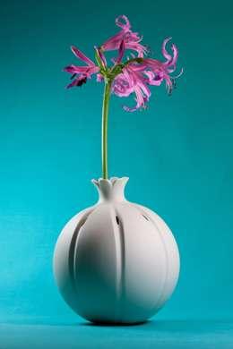 Vase Mohnkapsel: skandinavische Wohnzimmer von abendroth-porzellan
