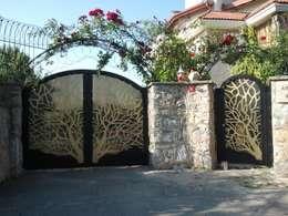 Projekty,  Ogród zaprojektowane przez Teknik Metal Ferforje