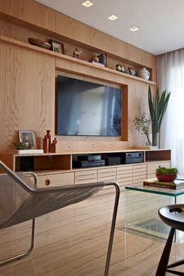 Projekty,  Salon zaprojektowane przez Coutinho+Vilela
