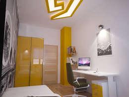 İNDEKSA Mimarlık İç Mimarlık İnşaat Taahüt Ltd.Şti. – İNDEKSA ÖRNEK DAİRE ÇALIŞMASI: modern tarz Çocuk Odası