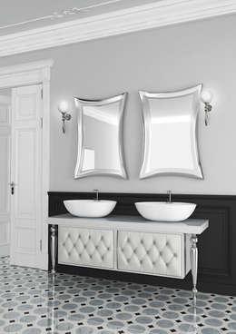 Coppie felici con il mobile bagno con doppio lavabo - Bagno la bussola ...
