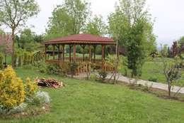 KAYALAR AHŞAP KERESTE ÜRÜNLERİ – KM-126 KAMELYA: akdeniz tarzı tarz Bahçe