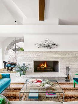 Projekty,  Salon zaprojektowane przez Hugh Jefferson Randolph Architects