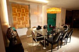 Interiores FF: Sala de jantar  por Tartan Arquitetura e Urbanismo