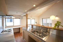 Кухни в . Автор – 光風舎1級建築士事務所
