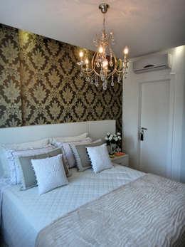 eclectic Bedroom by Gabriela Herde Arquitetura & Design