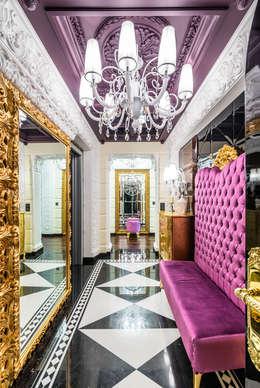 Pasillos y recibidores de estilo  por Belimov-Gushchin Andrey