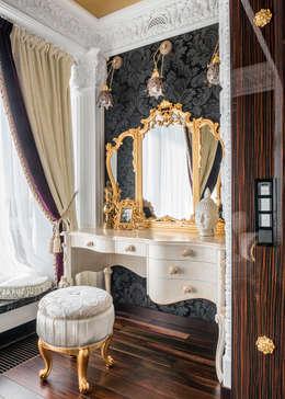 Интерьер квартиры в стиле Эклектики: Спальни в . Автор – Belimov-Gushchin Andrey