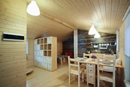 Projekty,  Salon zaprojektowane przez BIO - architectural Bureau of Ivan Ovchinnikov