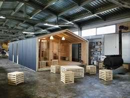 Projekty, skandynawskie Domy zaprojektowane przez BIO - architectural Bureau of Ivan Ovchinnikov