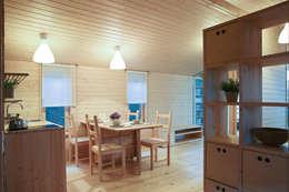 scandinavian Living room by BIO - architectural Bureau of Ivan Ovchinnikov