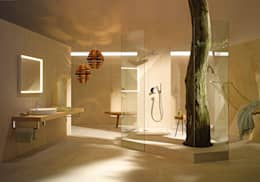 modern Bathroom تنفيذ Espace Aubade