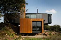 Case in stile in stile Moderno di Patrick Bradley Architects