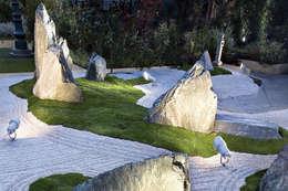 Реализация Альпинарий на дачном участке:  в . Автор – Студия 'ART Story'