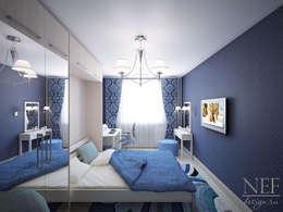 Квартира в современном стиле: Спальни в . Автор – Юлия Паршихина