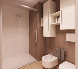 modern Bathroom by Azzurra Lorenzetto