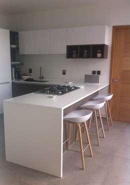 Cocinas peque as 10 ideas para optimizar espacio for Cocinas funcionales y modernas