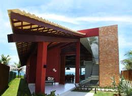 Casa Praia dos Lagos: Casas modernas por Arquitetura 3