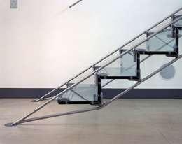 Projekty,  Korytarz, hol i schody zaprojektowane przez reForm Architects