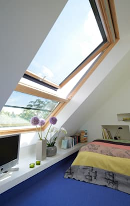 Dachstudio Hamburg: Moderne Schlafzimmer Von DODK Architekten BDA