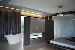 modern Bedroom by STRUKTURA Łukasz Lewandowski