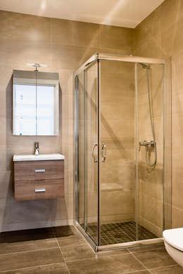 ห้องน้ำ by GPA Gestión de Proyectos Arquitectónicos  ]gpa[®