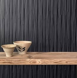 Plaza Yapı Malzemeleri – Designed by Tokujin Yoshioka for Mutina Ceramiche:  tarz Duvarlar