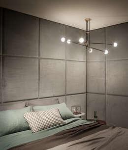 minimalistische Slaapkamer door Intuerilight