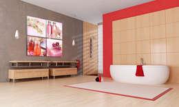 Baños de estilo moderno por BIMAGO.it