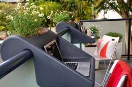 Symbolfoto zur Darstellung der Verwendungsmöglichkeiten: moderner Balkon, Veranda & Terrasse von homify