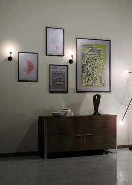 Salon de style de style Moderne par Intuerilight