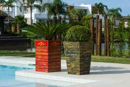 Jardín de estilo  por Plena Madeiras Nobres