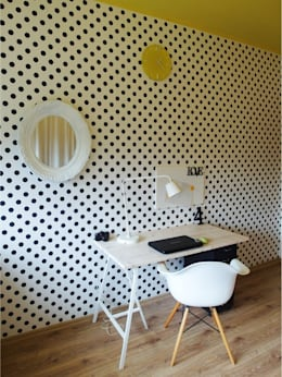 pokój M: styl , w kategorii Pokój dziecięcy zaprojektowany przez NaNovo