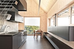 Maison bois: Cuisine de style de style Moderne par Archiconfort