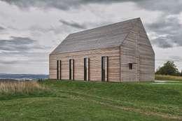 Maison bois: Maisons de style de style Moderne par LD ARCHITECTE D'INTERIEUR