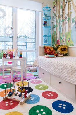 Квартира в ЖК Новая Скандинавия: Детские комнаты в . Автор – projectorstudio