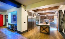 Udesign Architecture – Levent Villa: endüstriyel tarz tarz Mutfak