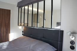 industrial Bedroom by blackStones