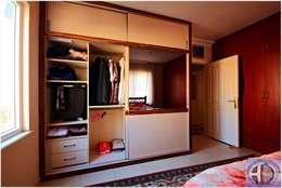Akdeniz Dekorasyon – Yatak Odası Uygulamalarımız: modern tarz Yatak Odası